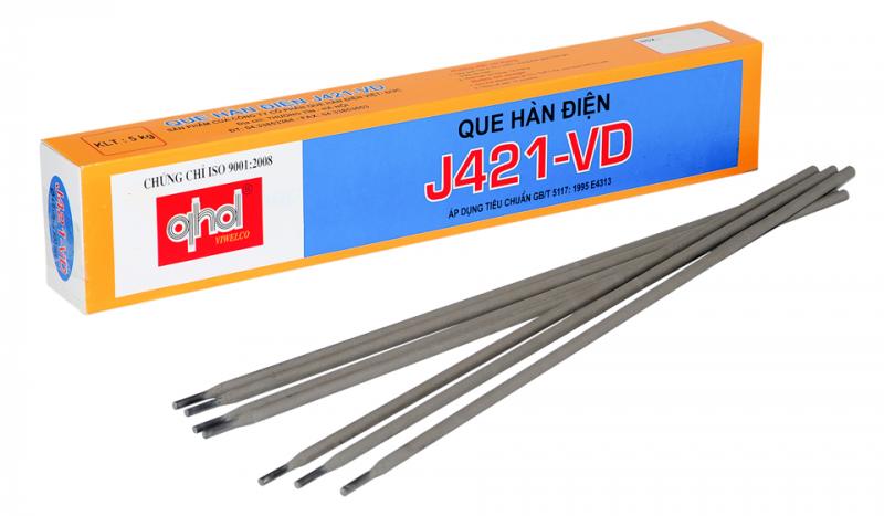 Que hàn điện J421 – VD